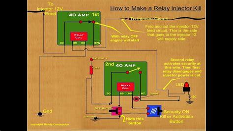 alternator relay failure circuit youtube
