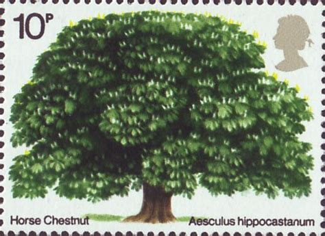trees 2nd issue 1974 collect gb sts