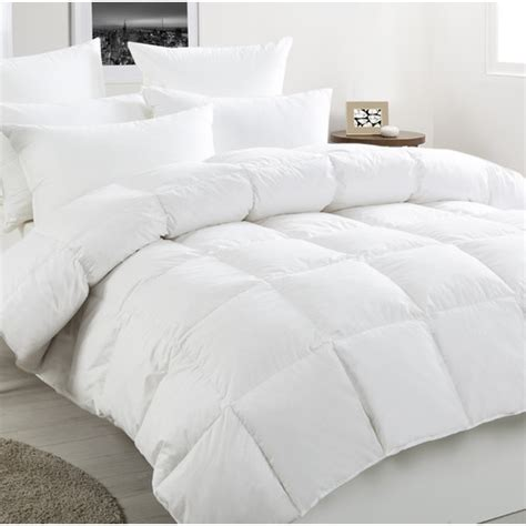 dreamaker bedding new white duck and feather quilt ebay