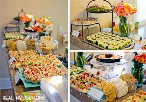 awesome bridal shower food air balloon baby shower real housemoms