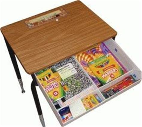 Student Desk Organizers This Idea I Will Give It A Try With My Disorganized Students Classroom Organization