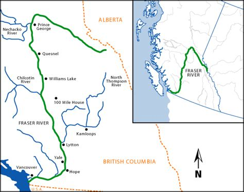 fraser river on map of canada dredging fraser river to finally start overview