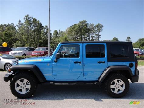jeep dark blue 2010 jeep wrangler unlimited islander edition 4x4 in surf
