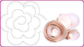 sagome fiori di carta di carta nozzeggiando