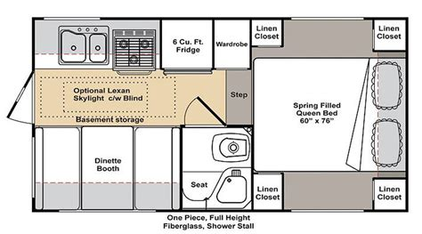 small rv floor plans small cer floor plans gurus floor