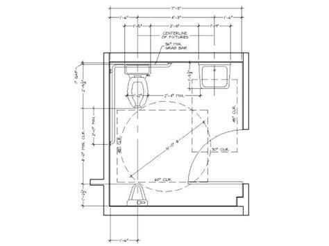 ada bathroom requirements commercial buildings