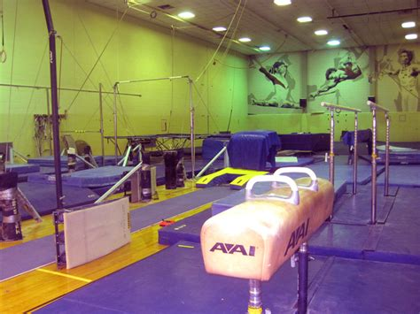 gymnastics room satellite facilities info