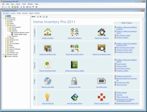 home inventory software home inventory pro 2011