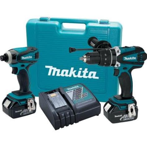 makita 18 volt lxt lithium ion cordless combo kit 2 tool