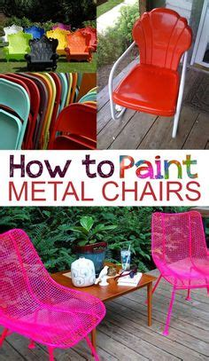 rustoleum spray painted chairs these remind me of all bring new life to your old plastic chairs with krylon