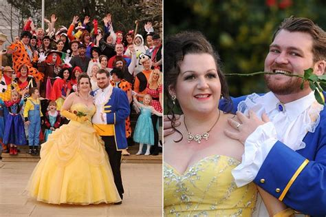 elsa from frozen and minnie mouse among the guests at disney mad s themed wedding