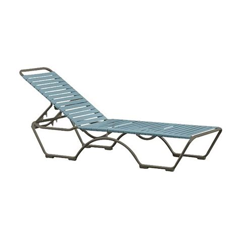 vinyl strap chaise lounge kahana vinyl strap chaise lounge with aluminum frame