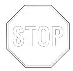 printable stop sign coloring pages coloringstar