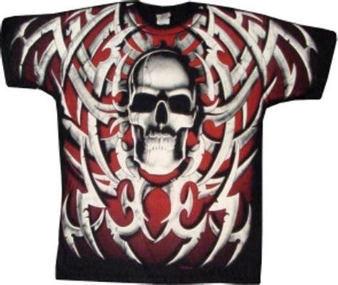 Tshirt Skull Tribal tribal skull t shirt