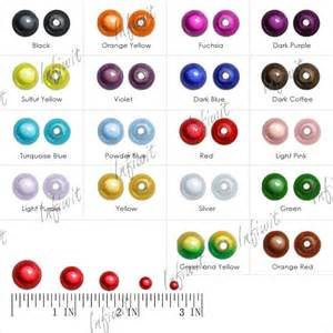 Acrylic Miracle 18 Colors 4mm 6mm 8mm 10mm