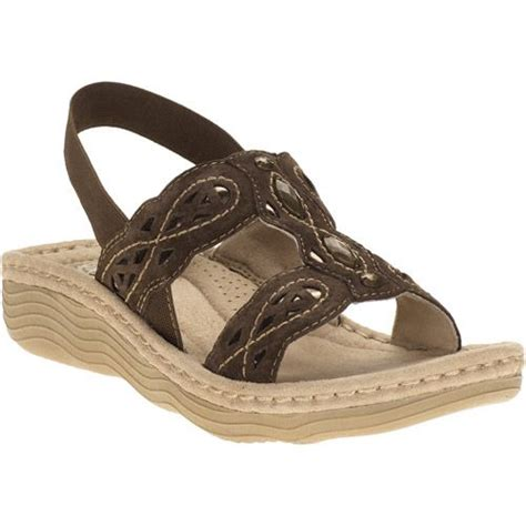 walmart sandals womens earth spirit womens cheyenne sling back sandals shoes