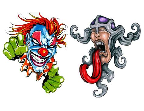 jester tattoo designs clown clown flash jimmys idea