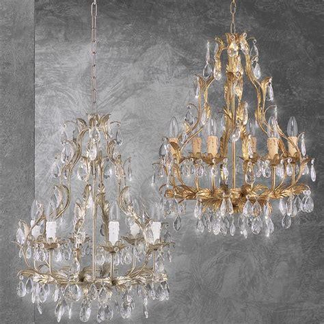 kronleuchter 8 flammig pisa farbe weiß gold deckenlen ferro luce und andere len f 252 r