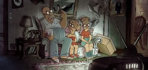 french simpsons couch gag watch sylvain chomet s artistic french style simpsons