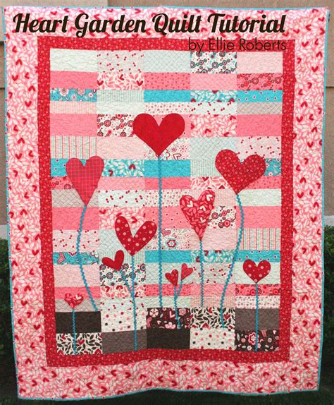 quilt tutorial videos heart garden quilt 171 moda bake shop