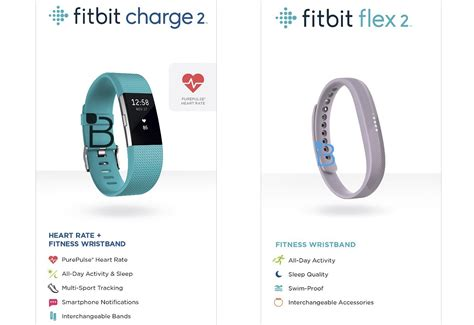 fitbit s new charge 2 and flex 2 wearables leak