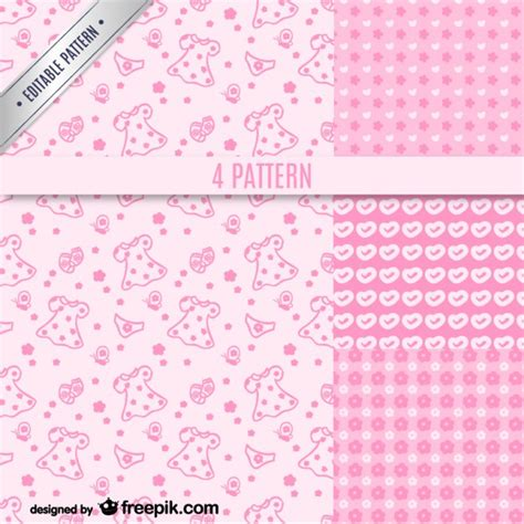 pink pattern girly pink girly patterns vector free download