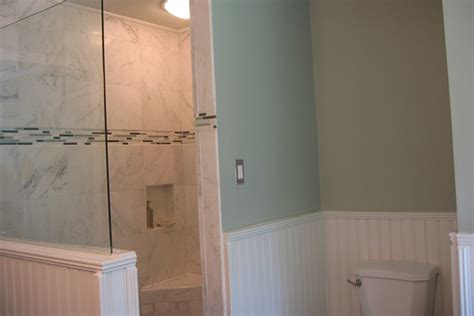 Beadboard Wainscoting Bathroom 1000 Images About Wainscoting Bathroom Reno On