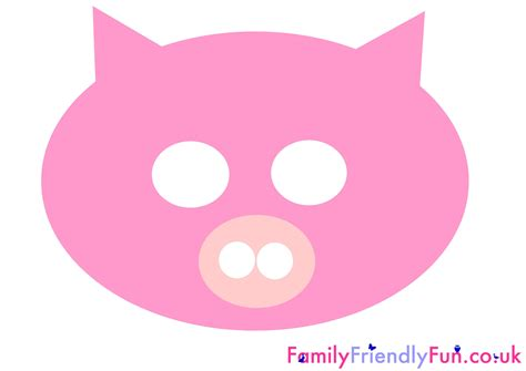 printable pig nose mask pig mask for children chinese new year jpg 3 508 215 2 480