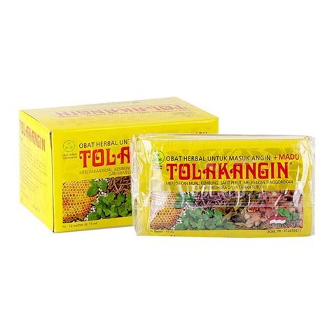 Tolak Angin Anak Cair Sachet Madu 10 Ml Obat Herbal tolak angin cair