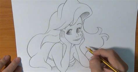 imagenes de sirenas para dibujar a lapiz dibujar a la sirenita youtube