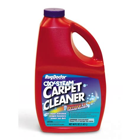rug cleaner shop rug doctor oxy steam 48 oz carpet cleaner at lowes