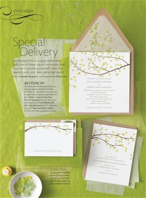 painted wedding invitations martha stewart may 2011 oh so beautiful paper