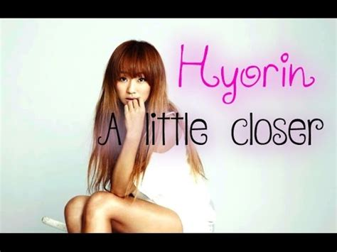 download mp3 hyorin little closer hyorin a little closer sub esp rom han youtube