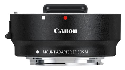 Adaptor Eos M Canon 6098b005 Mount Adapter Ef Eos M Black Co Uk Photo