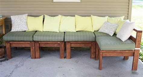wood 2x4 outdoor furniture pdf plans