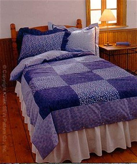 pattern comforter kwik sew 2958 duvet cover and pillow shams