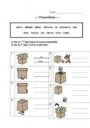 english teaching worksheets prepositions