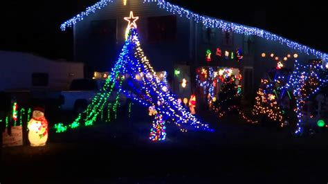 merry christmas house  lights  nailgenie mad russian christmas youtube