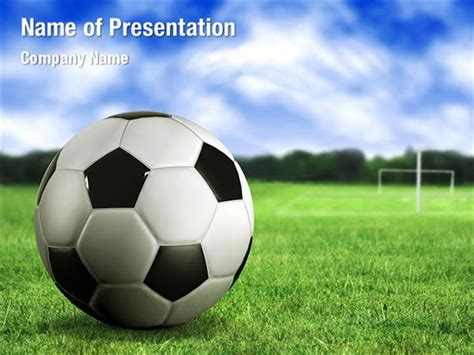 Football Field Powerpoint Templates Football Field Powerpoint Backgrounds Templates For Soccer Powerpoint Template