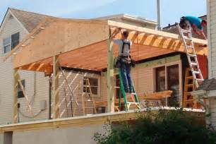 L Shaped Dormer Screened In Deck Flooring 187 Design And Ideas