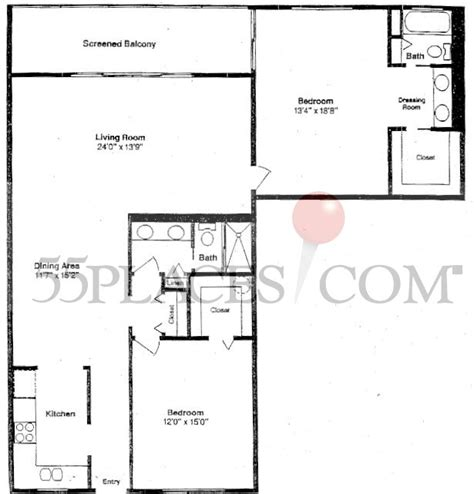 Model K Floorplan 0 Sq Ft Century Village At | h floorplan 1563 sq ft century village at boca raton