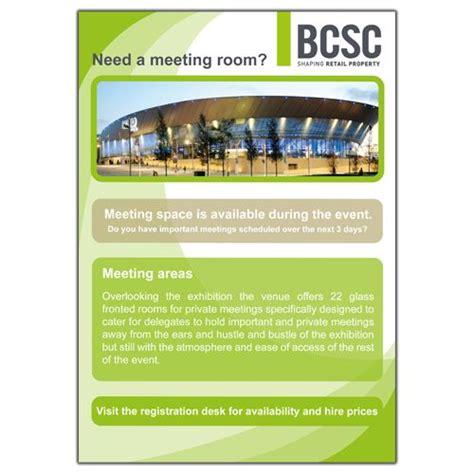 Bcsc Calendar Bcsc Annual Conference Meeting Room Flyer Bcsc