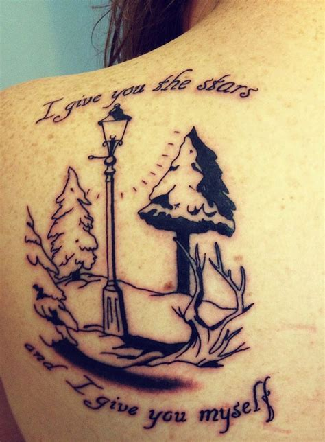 a narnia tattoo narnia pinterest