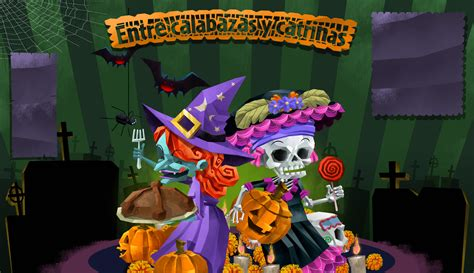 imagenes halloween y dia de muertos halloween vs d 237 a de muertos alternativo mx