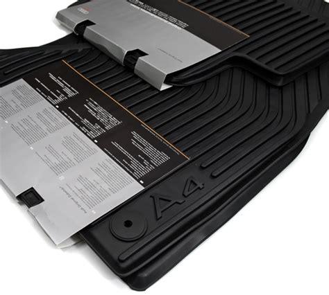 Fu Matten Auto Audi A4 by Audi A4 8k Gummi Fu 223 Matten 4 Teilig Original Zubeh 246 R