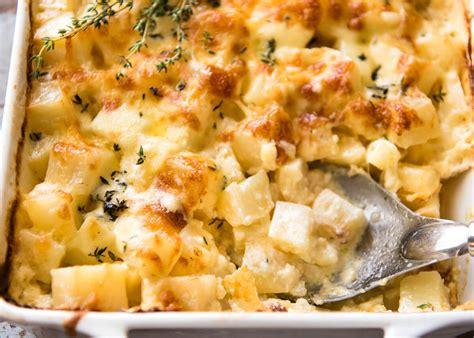 Reader Recipe Cheesy Baked Potatoes by Easy Cheesy Potato Bake Recipetin Eats