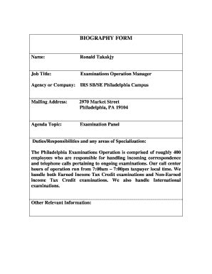 online biography form fillable biography form fill online printable fillable
