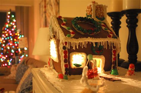 inside christmas decorations my gingerbread house