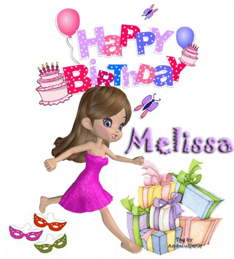imagenes de happy birthday melissa glitter graphics the community for graphics enthusiasts