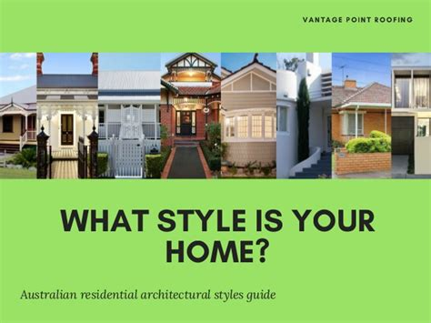 what are the different styles of residential architecture what style is your home